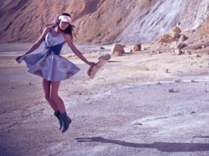 STOP MOTION FASHION VIDEO|JET LAG|The land down under. S/S 2013.[kampanja]
